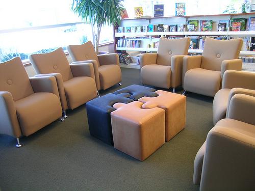 coin lecture en bibliothèque