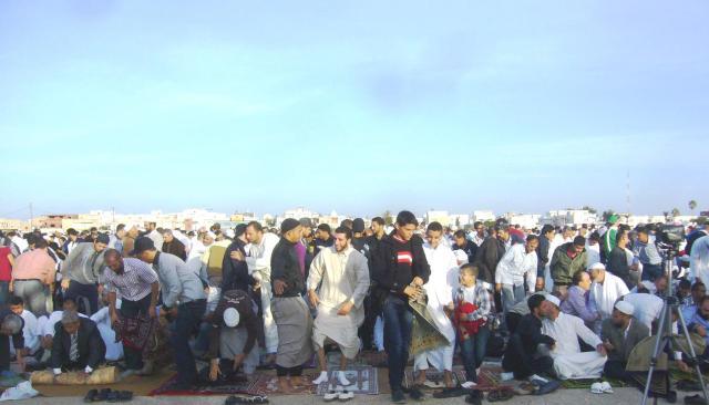 prière de l'aid Safx 2012